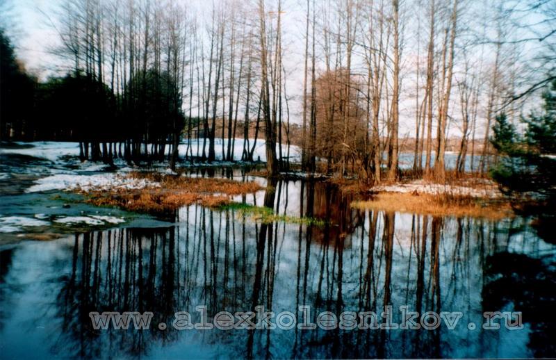 Черное озеро в Покрове