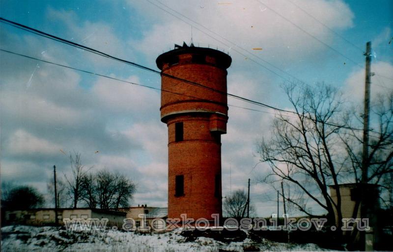 Водонапорная башня в Покрове