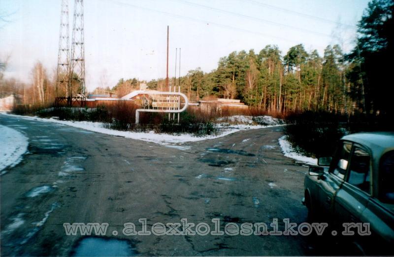 Пионерский лагерь имени Быковского в Покрове