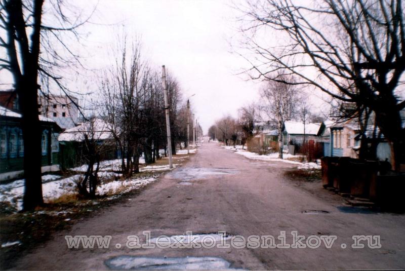 город Покров улица Быкова