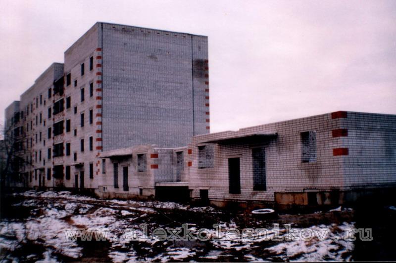 Недостроенный дом в Покрове